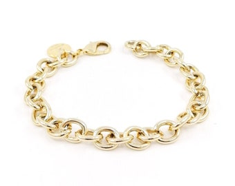 Trixie - gold heavy bracelet