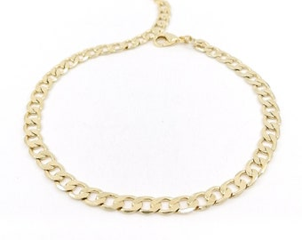 Jack - curb chain anklet