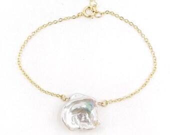 De la mer - bracelet, 18k gold filled