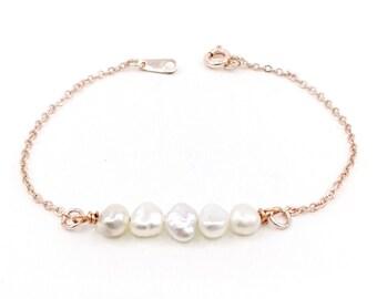 bracelet Anaïs - rose gold