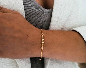 Barcelona - 18k gold filled bracelet