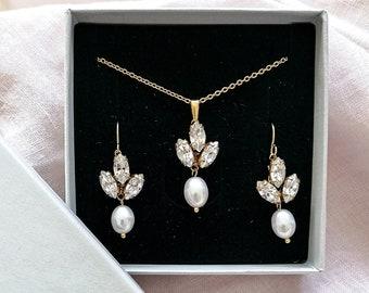 Vivienne - bridal jewelry set