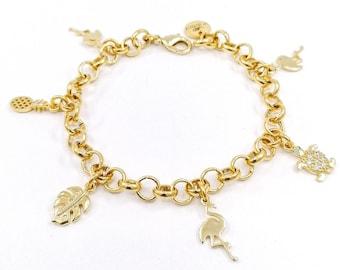 Ibiza - charm bracelet