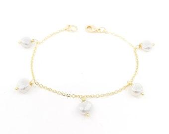 Jess - 18k gold filled bracelet