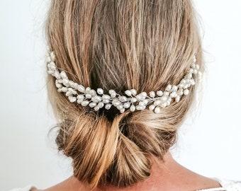 Rosetta - pearl headpiece