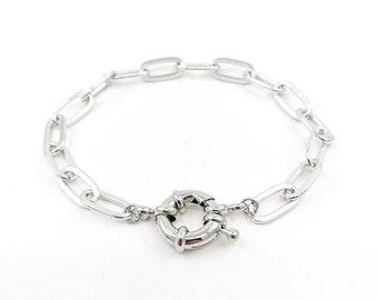 Denny - rhodium plated bracelet
