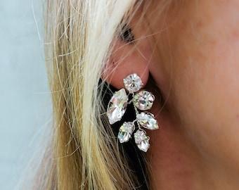 Juniper - crystal earrings