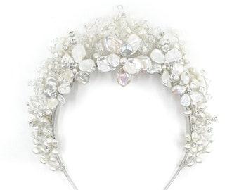 Cheryl - bridal floral crown
