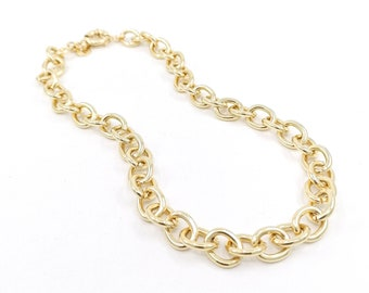 London - chunky cable link necklace