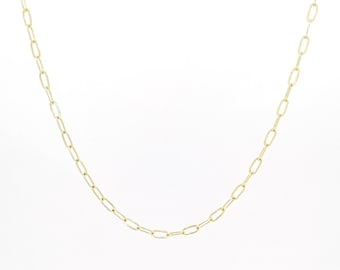 Basic chain necklace - gold