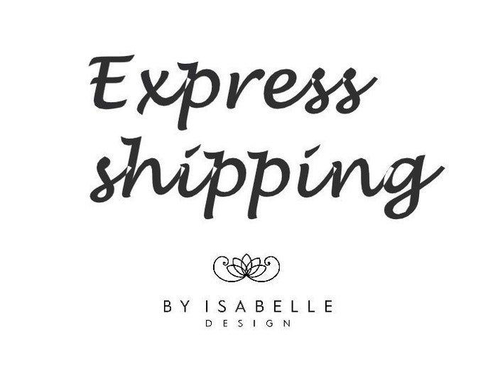 Featured listing image: Express shipping update