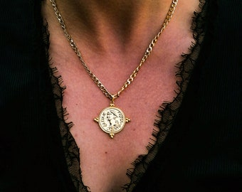 Filos vol.2 - chunky coin necklace