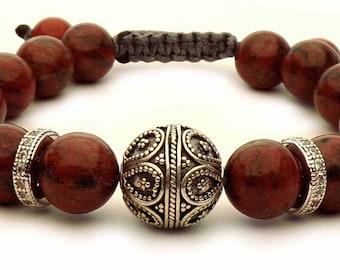 The Brown Jasper bracelet