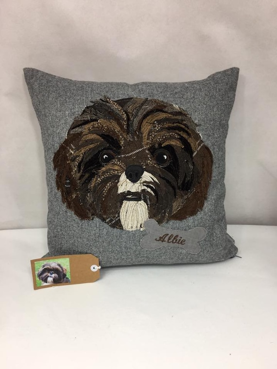 MADE TO ORDER Pet Portraits- cushions