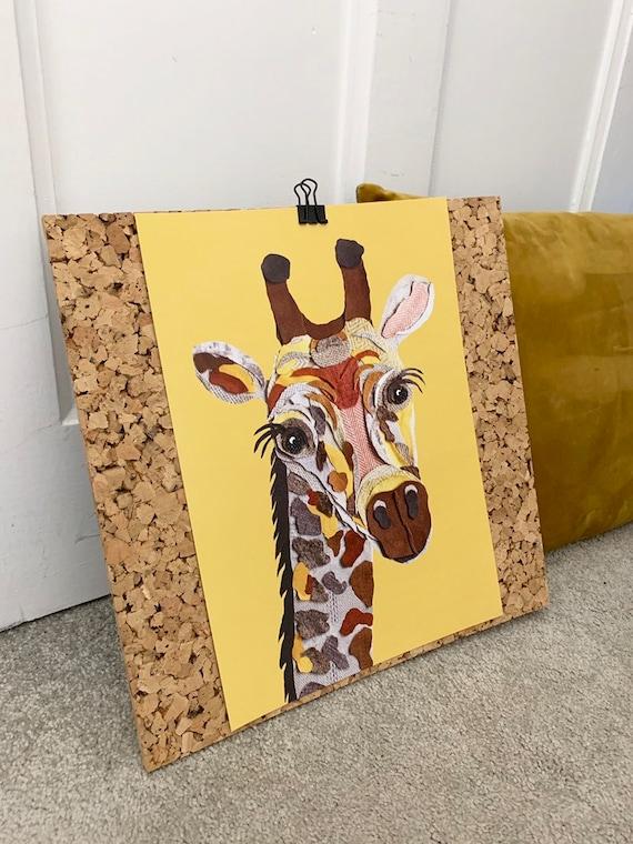 Giraffe A4 Print- Nala the Giraffe