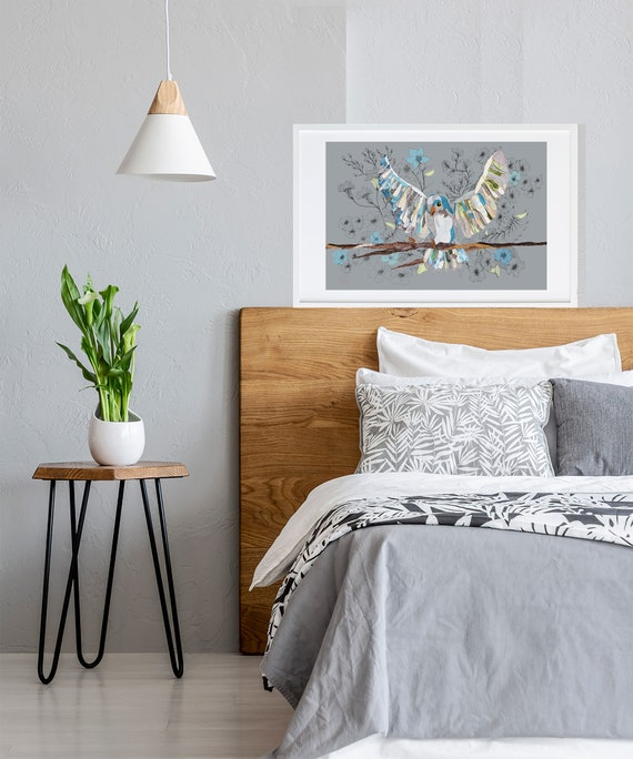 A4 Bird Print