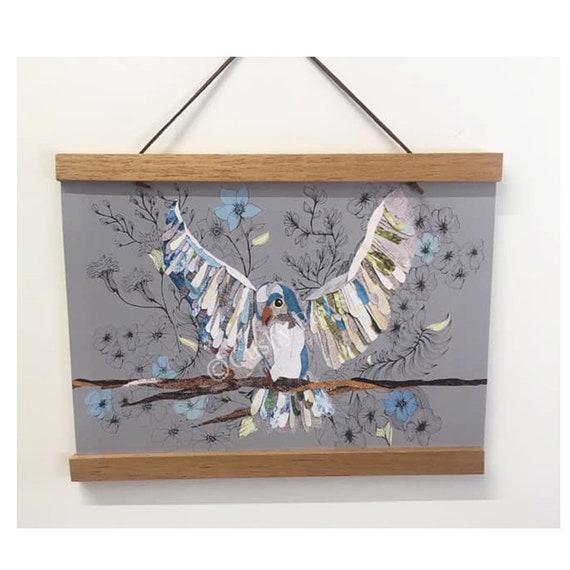 Bird A4 Print- Capri the bird