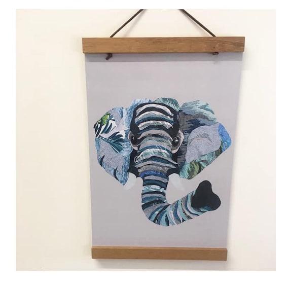 Elephant A4 Print- Kona the Elephant