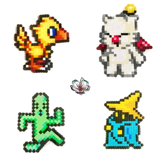 Final Fantasy Chocobo Mog Pampa Mage Pixel Art