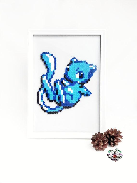 Mew Pokemon Pixel Art Mew Shiny Pixel Art Beads