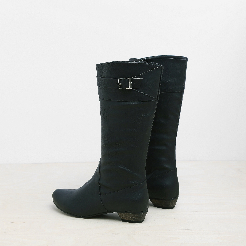 Negro Vegan Mujer Mujer Mujer Zapatos negro Vegan Mujer  botas  Eco Friendly a595d8