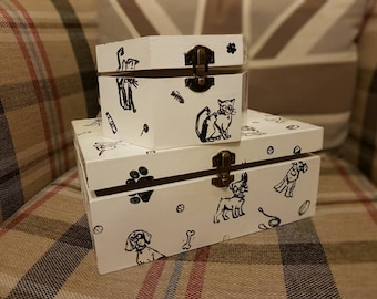 Dog and Cat storage boxes