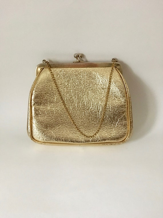 Julius Resnick JR Florida Gold purse