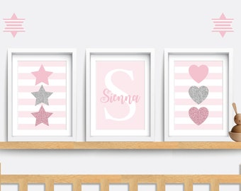 baby girl prints etsy