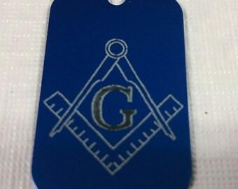 Masonic Dog Tag
