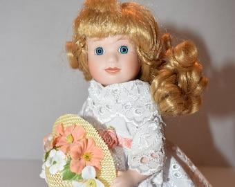 "8.5"" Porcelain Doll"