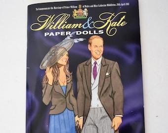William and Kate Paperdolls