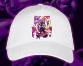 Punk girl cap