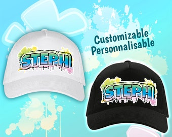 Blue Street Style customizable cap