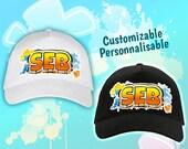 Orange Street Style customizable cap