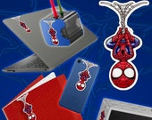 Sticker Cute Spider Man for Phone Tablet Computer Furniture