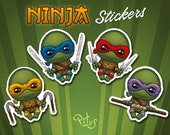Ninja turtle stickers for phone tablet car motorcycle computer furniture