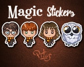 Stickers of Harry and his buddies for phone tablet car motorcycle computer furniture