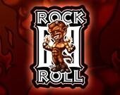 RocknRoll diablotin sticker for phone tablet computer furniture