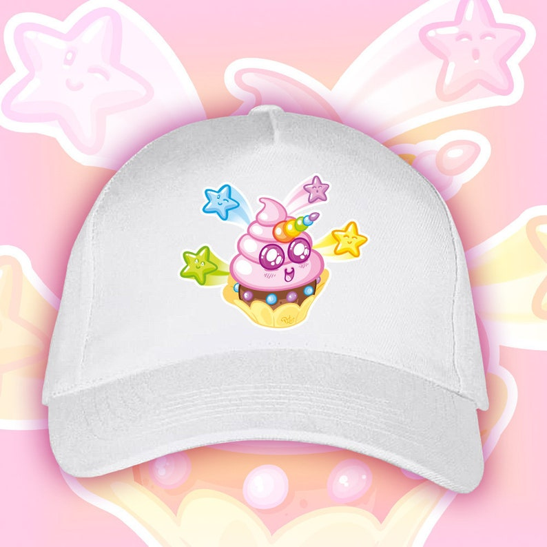 Unicorn Cupcake Cap image 1