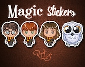 Stickers of Harry and his buddies for phone tablet computer furniture