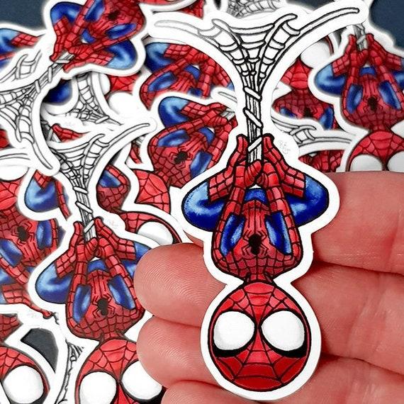 Shoptagr Niedlich Hängender Spider Mann Aufkleber Für