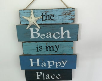The Beach Is My Happi Place