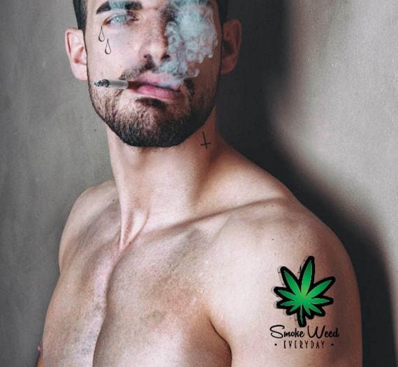 Smoke Weed Everyday Dr Dre Snoop Dog Tatouage Tatouage Etsy