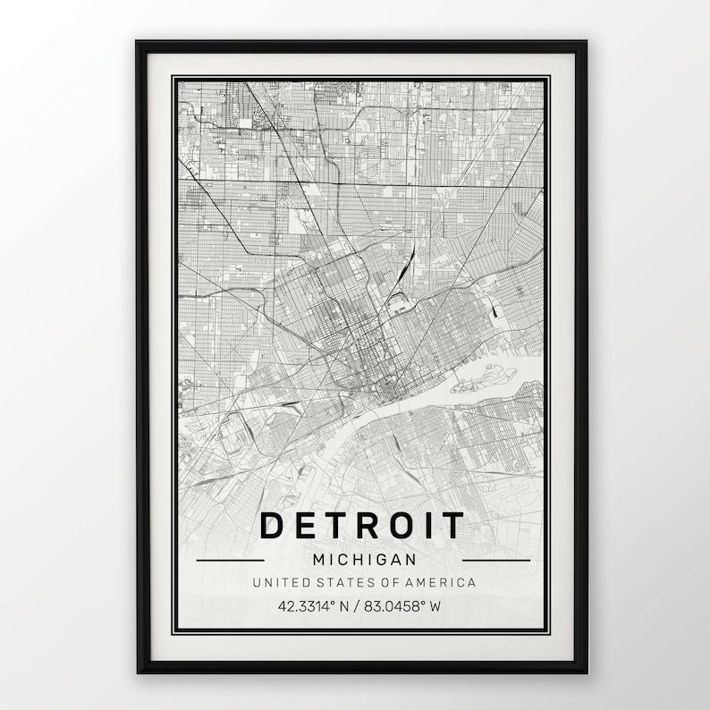 Kunstdrucke Kunst Bristol City Map Poster Print Modern