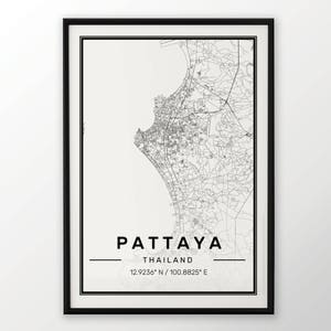 LIMA CITY MAP POSTER PRINT MODERN CONTEMPORARY CITIES TRAVEL IKEA FRAMES