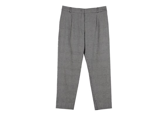 MaxMara / tailored houndstooth pants / cigarette p