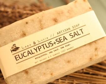 Eucalyptus+Sea Salt   Artisan Soap   Handmade Soap
