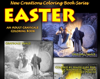 New Creations Coloring Book Series:  EASTER