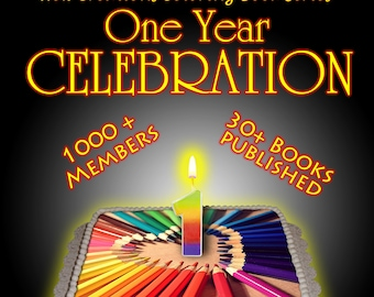 New Creations Coloring Book Series: ONE YEAR ANNIVERSARY