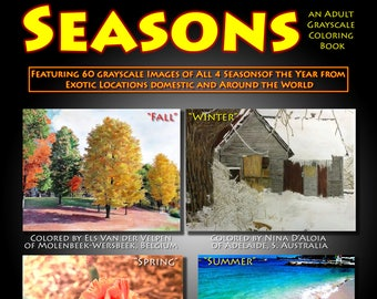 New Creations Coloring Book Series:  SEASONS